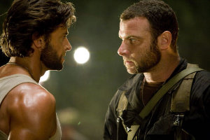 X-Men Origins Wolverine movie image Hugh Jackman and Liev Schreiber